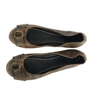 Frye Flats, Leather, Size 11